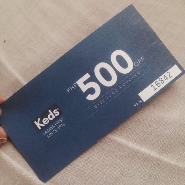 KEDS Discount Voucher
