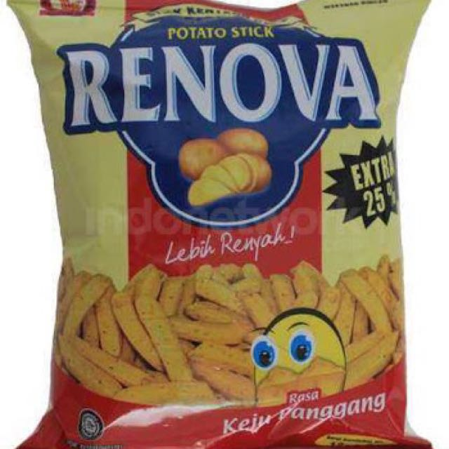 Keripik kentang Renova