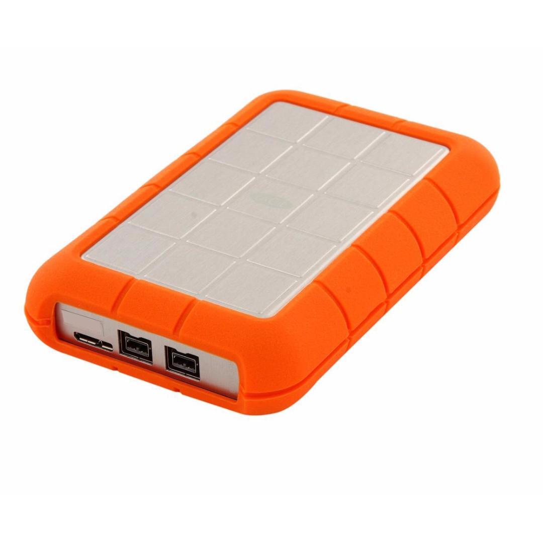 Lacie 1tb Rugged Triple Interface Usb 3 0 Portable Hard