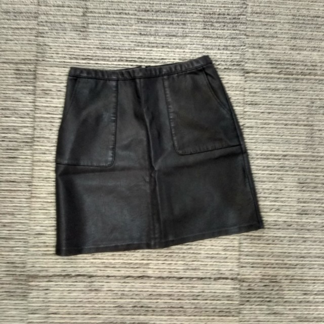 New Look Leather Skirt