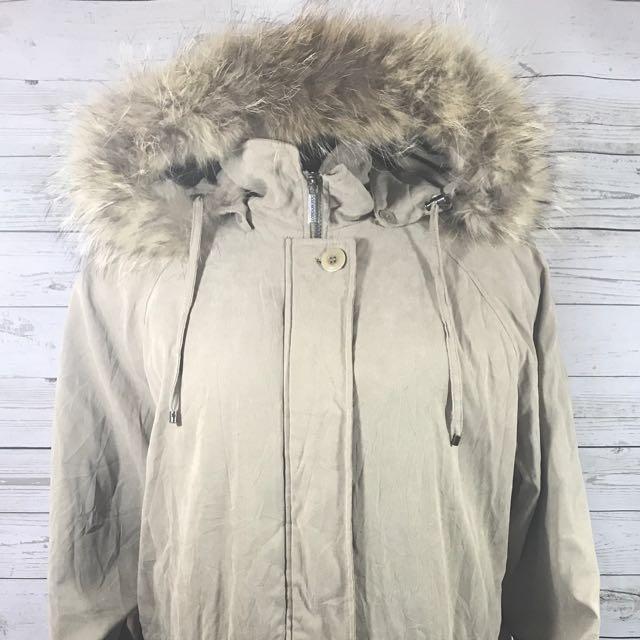 London fog fur jacket