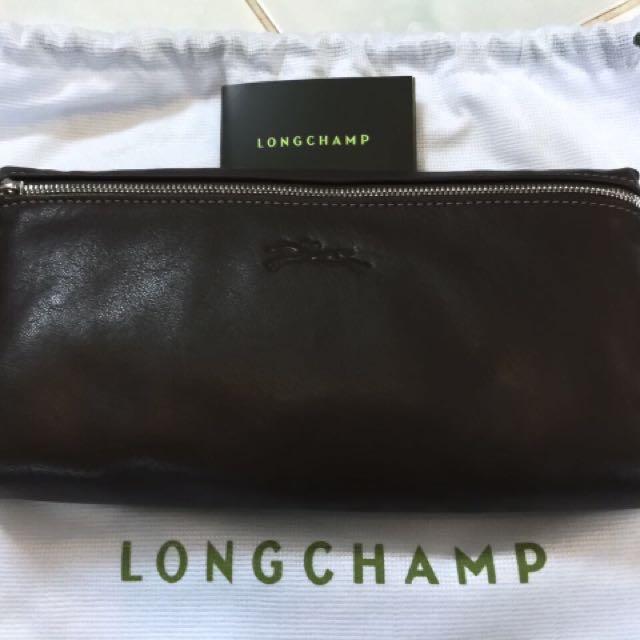 Longchamp Pouch Cuir