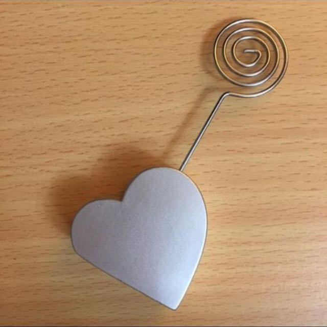 Love Heart Note Holder