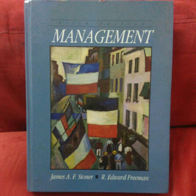 Management fifth edition by james afoner redward freeman photo photo fandeluxe Images
