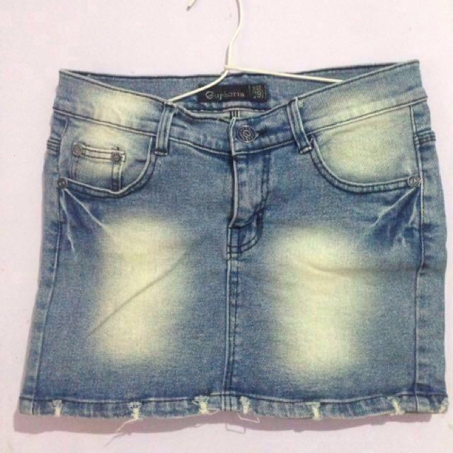 Mini skirt / Rok mini jeans