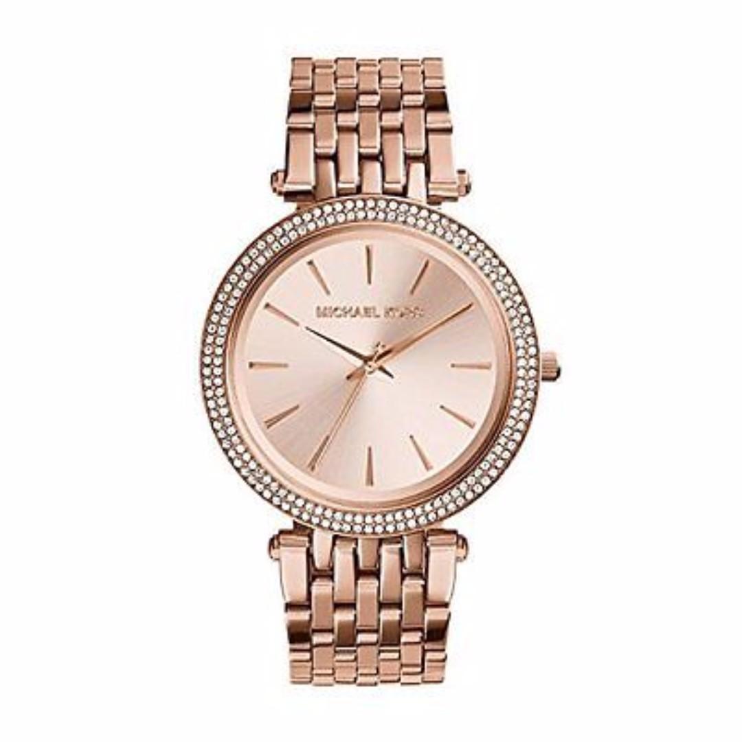 MK3192 - Women's Rose gold-Tone Stainless Steel Ladies Watch