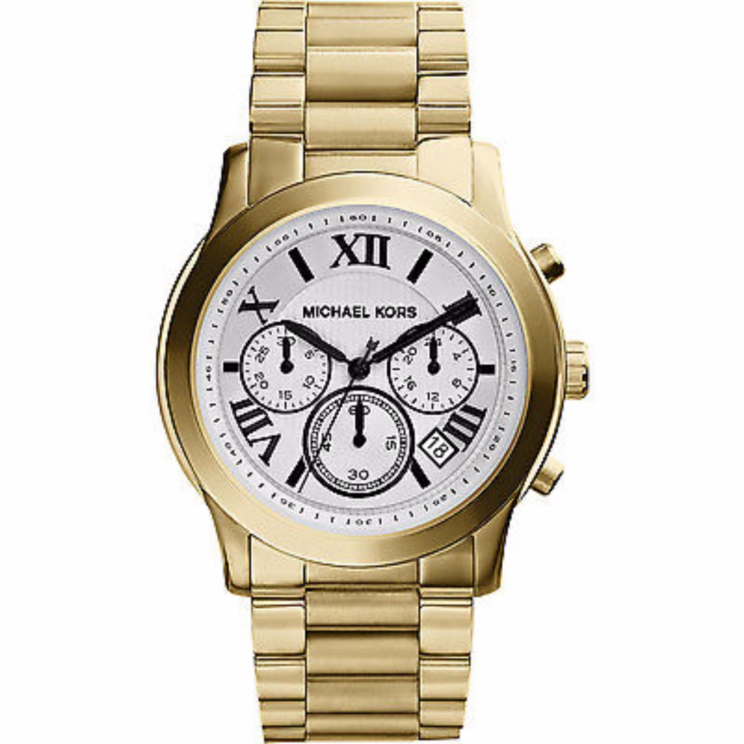 MK5916 - Michael Kors Cooper Gold-Tone Stainless Steel Chronograph Women's Watch