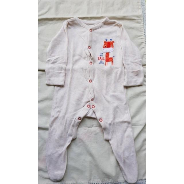 Mothercare Sleepsuits Girafe