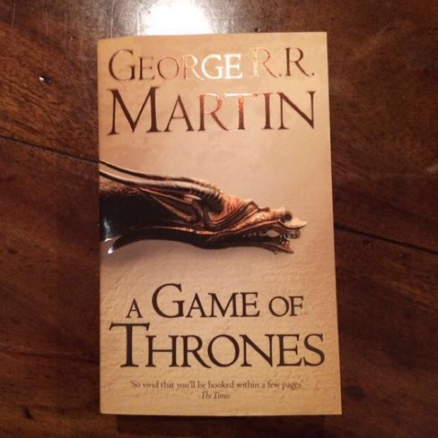 NEW Game of Thrones by George RR Martin