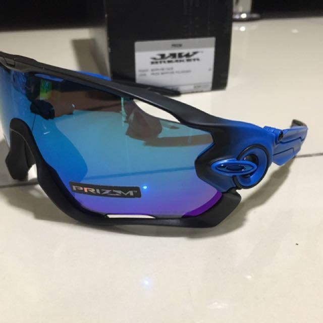 bfe07723677 Oakley Jawbreaker Sapphire Fade Prizm Sapphire