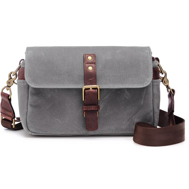 258f0ed22ac ONA Bowery (canvas/smoke) camera bag, Photography on Carousell