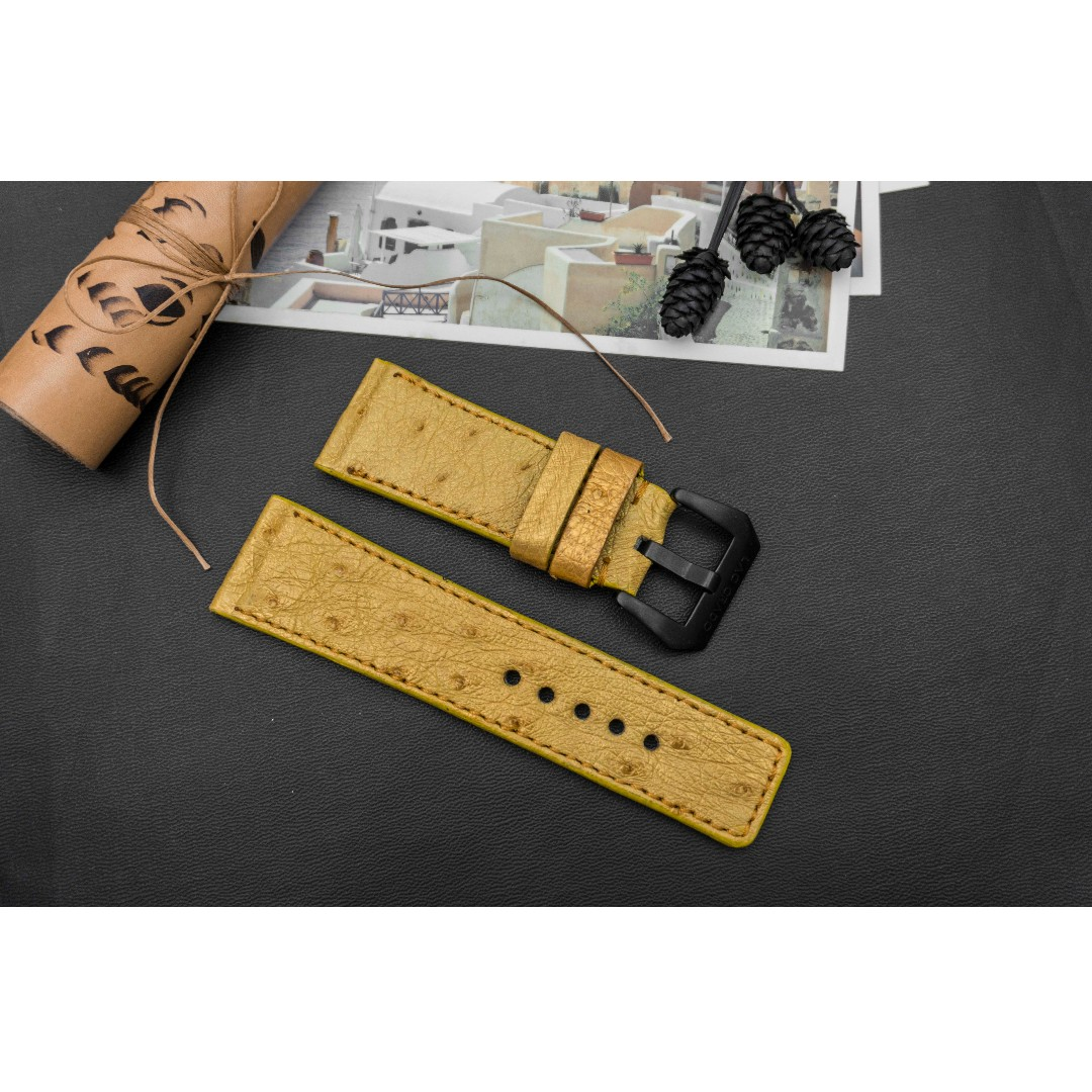 Sevenfriday Watch Band Strap Crocodile Leather Tissot Couturier Chronograph T0356271605100 28mm