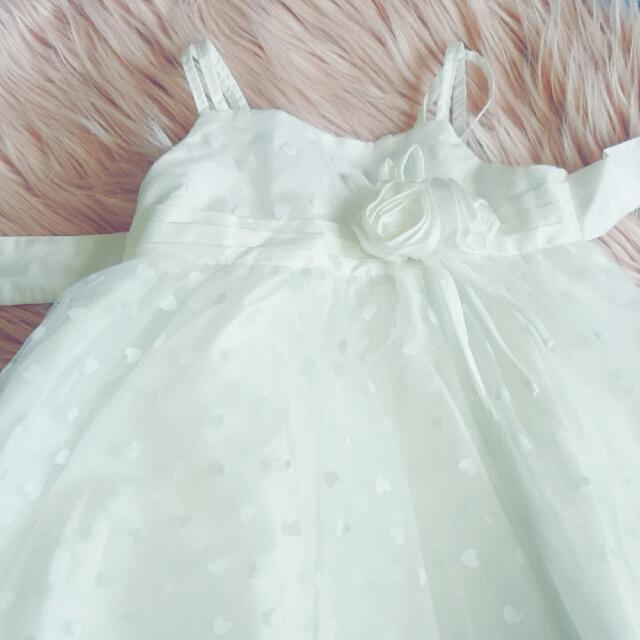 Orgami White Dress