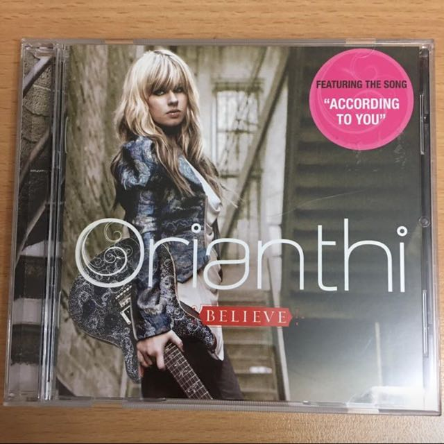 Orianthi BELIEVE Album & According to you Single