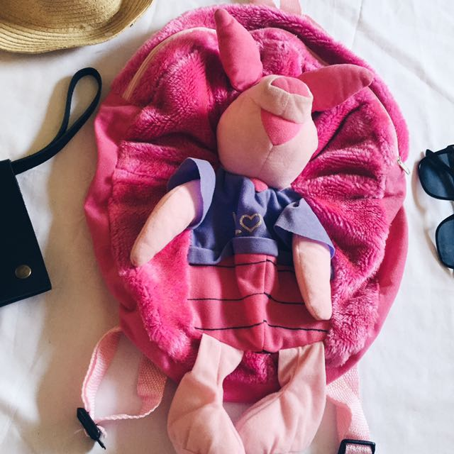Piglet Character Bag