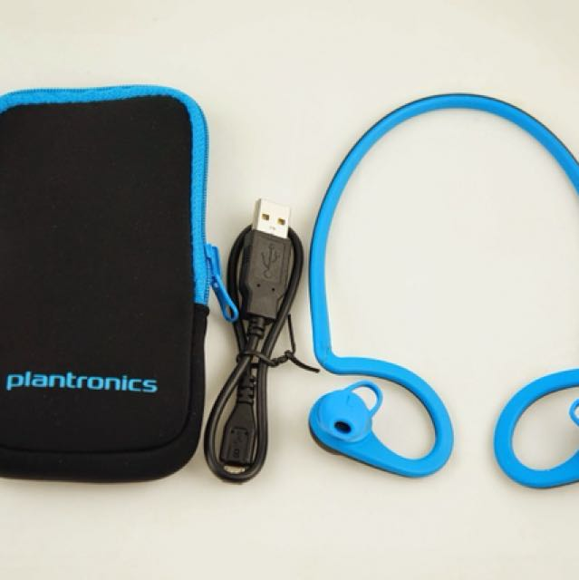 Plantronics 藍芽耳機-藍