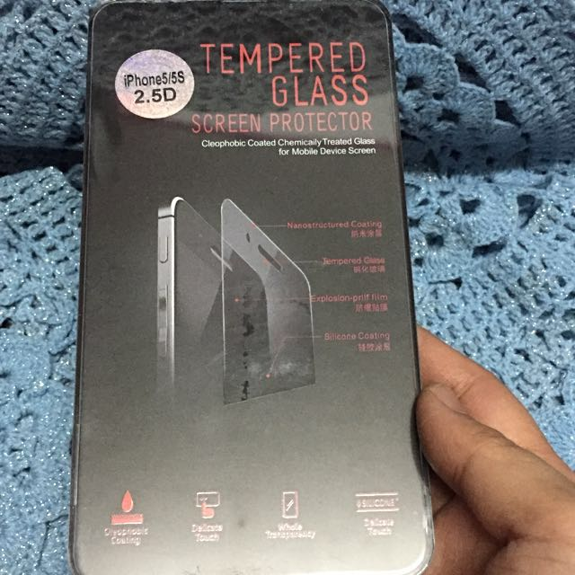 PROMO !Tempered Glass Screen Protector for Iphone 5/5s