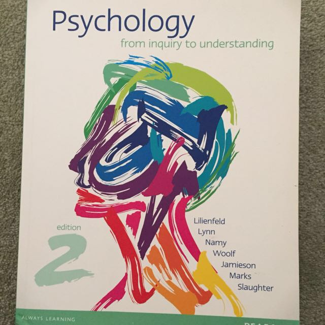 PSYCHOLOGY TEXT BOOK 🆕