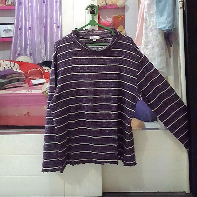 Purple Crop Top