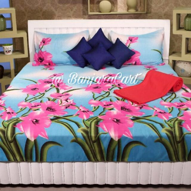 Queen & King size bedsheets set