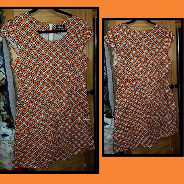 Revival Retro Dress Sz 14