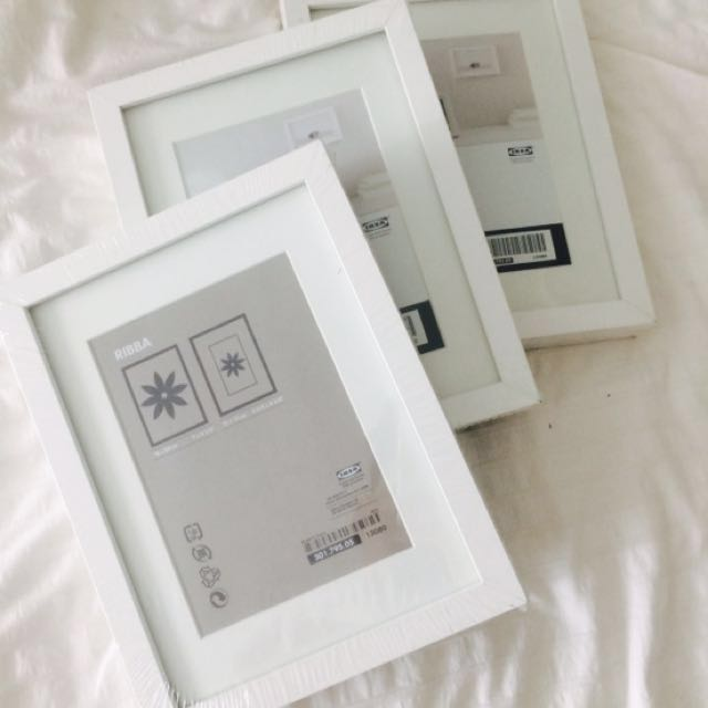 RIBBA Ikea Frame 18x24cm, Home & Furniture, Home Décor on Carousell