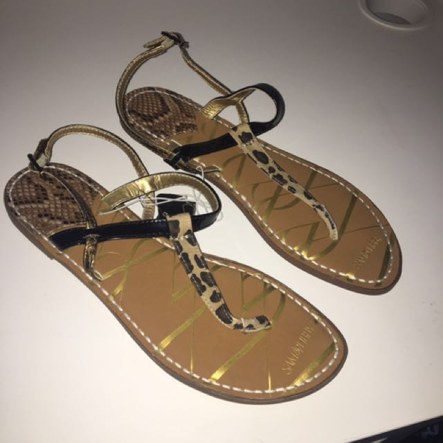 Sam & Libby Printed Thong Sandals