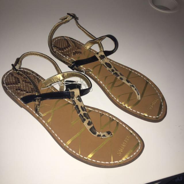 Sam & Libby Printed Thong Sandals