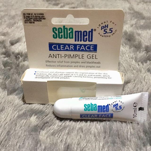 Seabamed Clearface Anti Pimple Gel