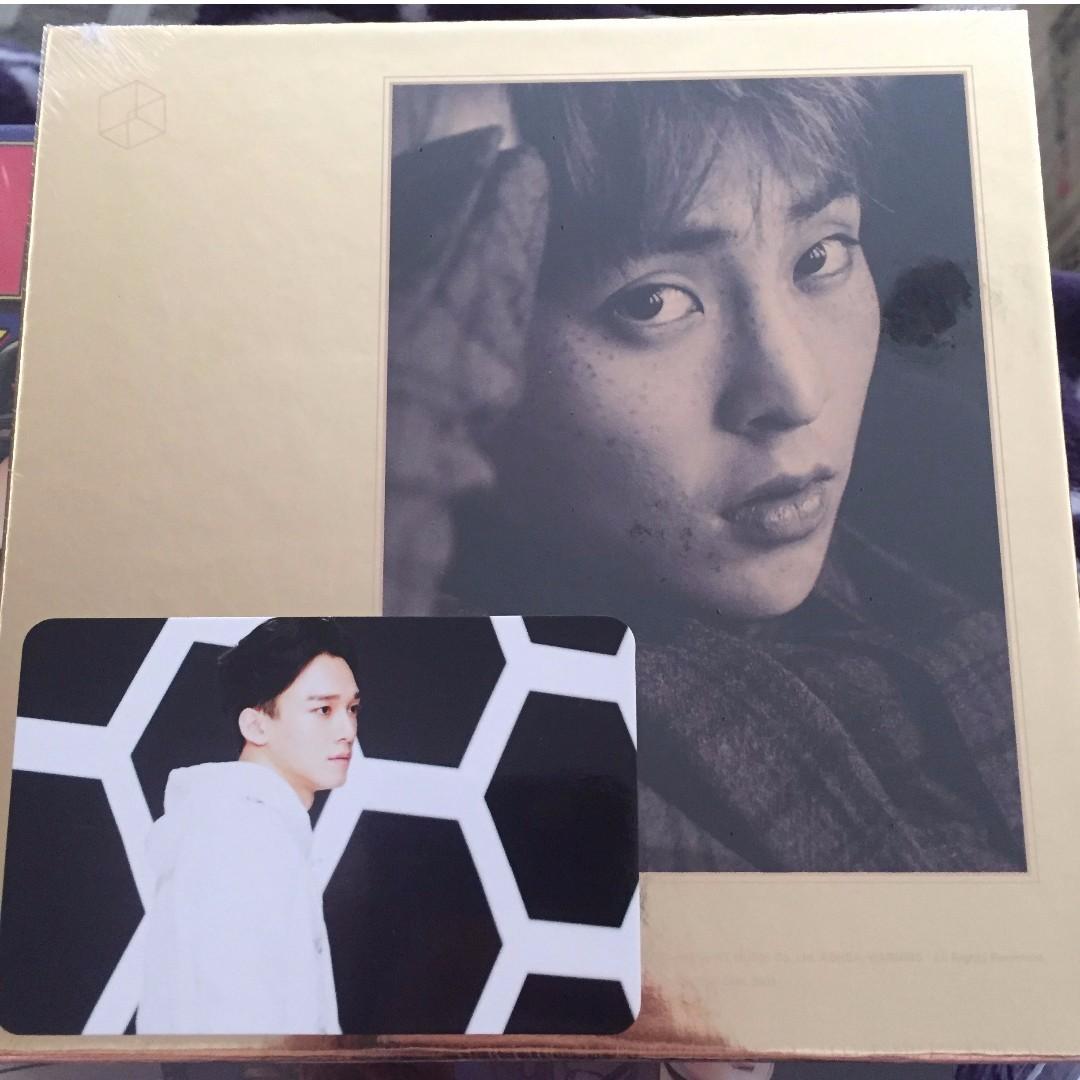 Sealed EXODUS Korean Ver (Xiumin Cover)