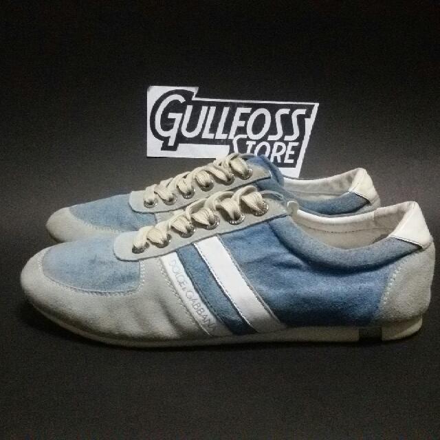Sepatu Dolce  Gabbana Men Sneaker Shoes Second bekas import 4eff9f7962