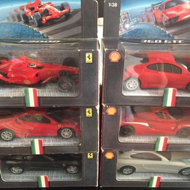 Shell Ferrari Cars
