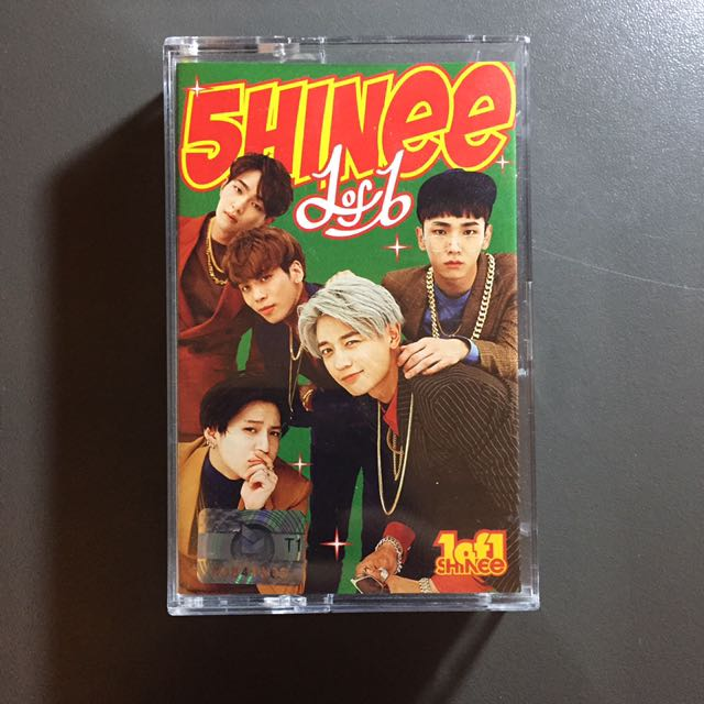 SHINee 1 of 1 cassette limited version