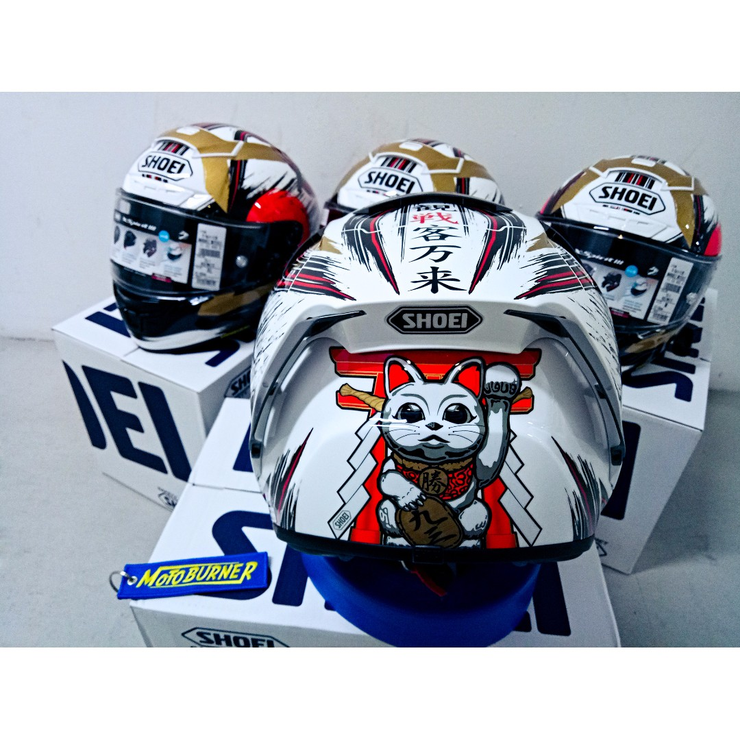 shoei x spirit 3 motegi marquez x14 helmet sports sports games equipment on carousell. Black Bedroom Furniture Sets. Home Design Ideas
