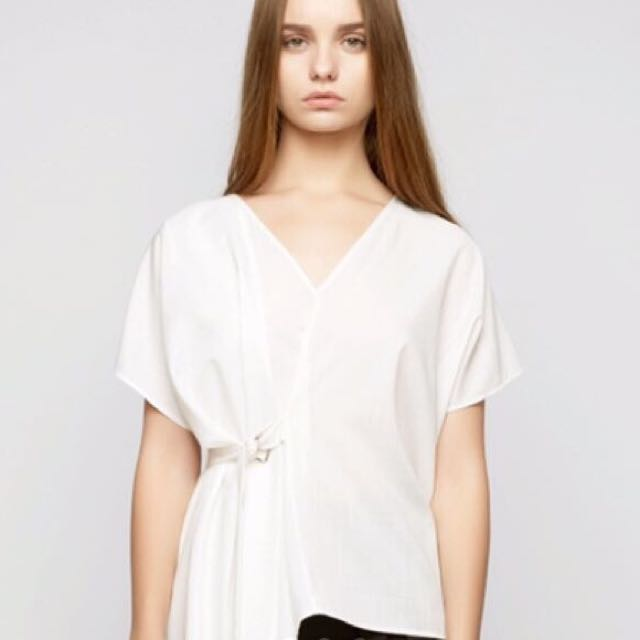 Shopatvelvet white top