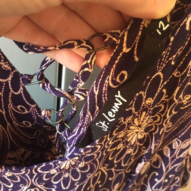 St Lenny Patterned Dress