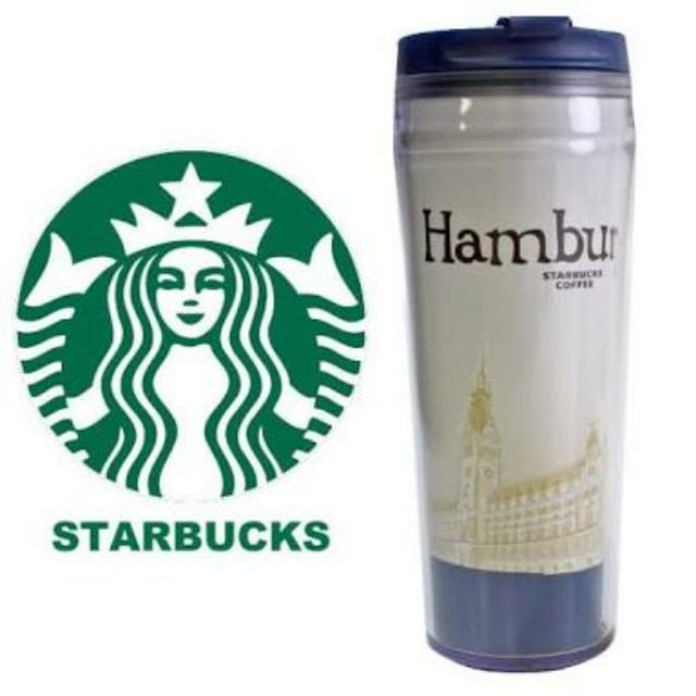 Starbucks Tumbler Tall 12oz Hamburg
