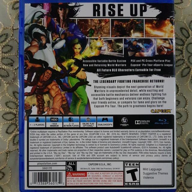 *Reserved* Street Fighter 5 - Street Fighter V PS4 2nd Hand Games