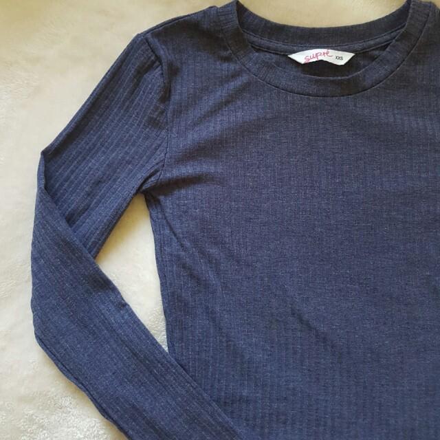SUPRE crop long sleeved