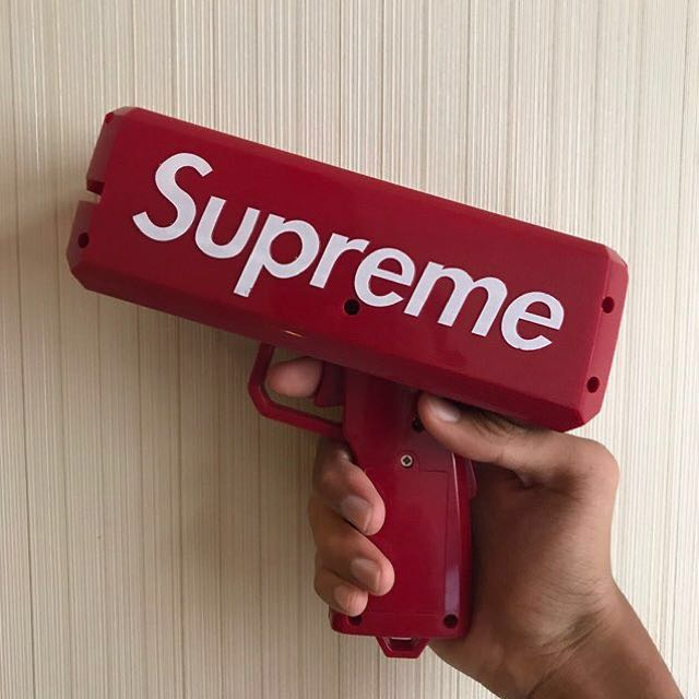 Supreme Ca$h Cannon Money Gun
