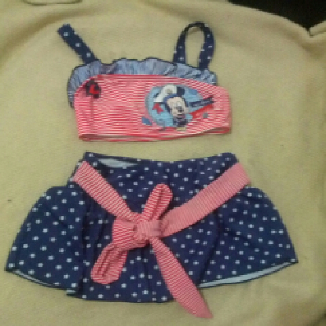 swim suit disney mickey minnie mouse