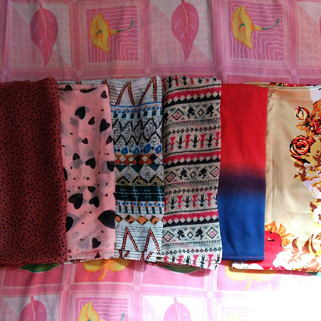 Take all, 6 pcs pashmina