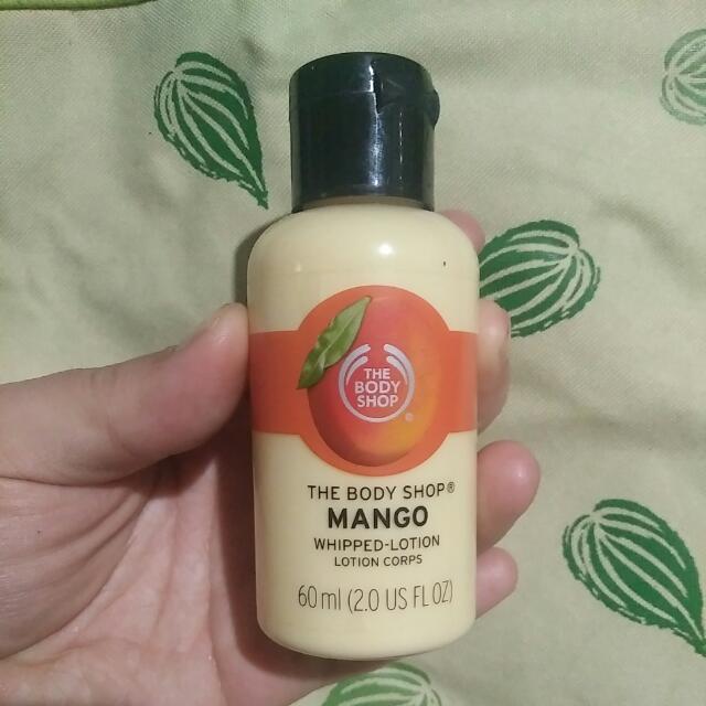 the body shop mango lotion
