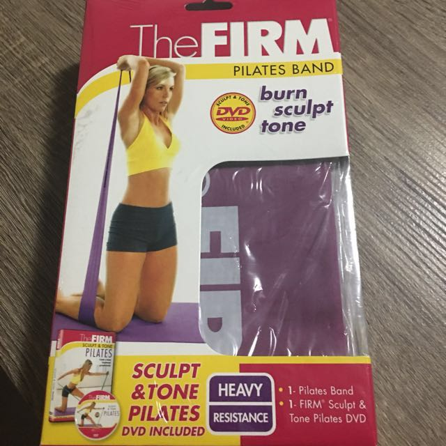 The Firm Pilates DVD And Band