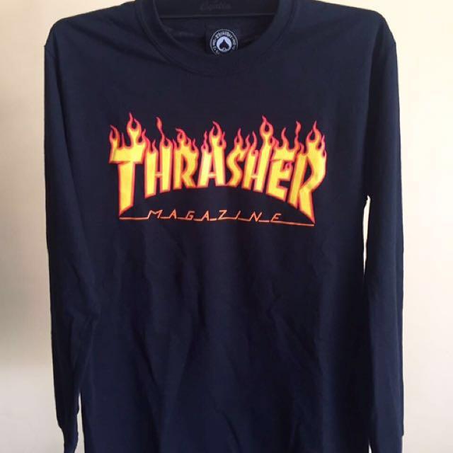 Thrasher mag flame longsleeve