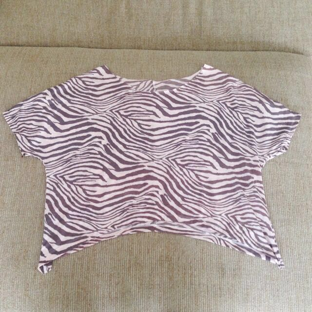 TONIK Zebra Top