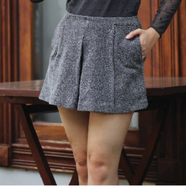 Tweed Skort