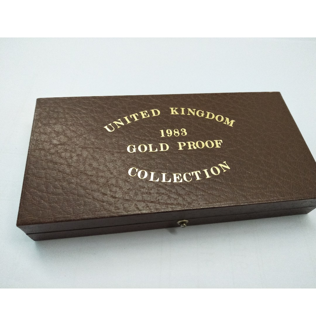 UNITED KINGDOM 1983 GOLD PROOF COIN COLLECTION