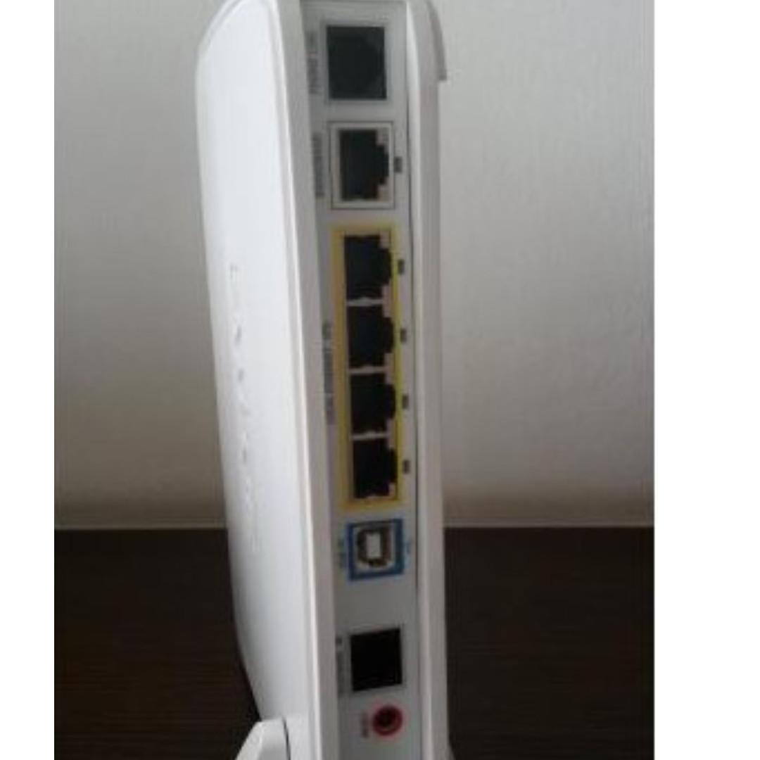 USED GOOD COND - Singtel 2wire ADSL2 / 2+ 4 port Wireless Modem ...
