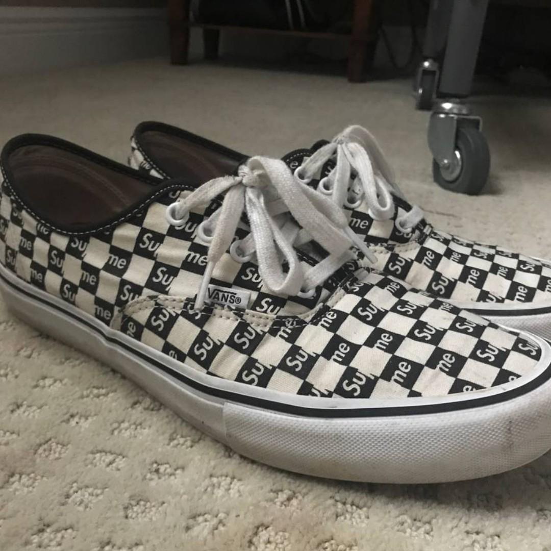 vans supreme checkered ef67b8b19